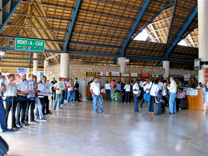Punta Cana Airport Arrival Hall