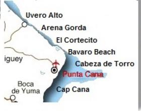 World Map Punta Cana.Where Is Punta Cana Punta Cana Map